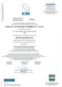 Anteprima certificato ICIM